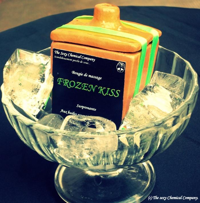 bougie de massage Frozen Kiss DELUXE