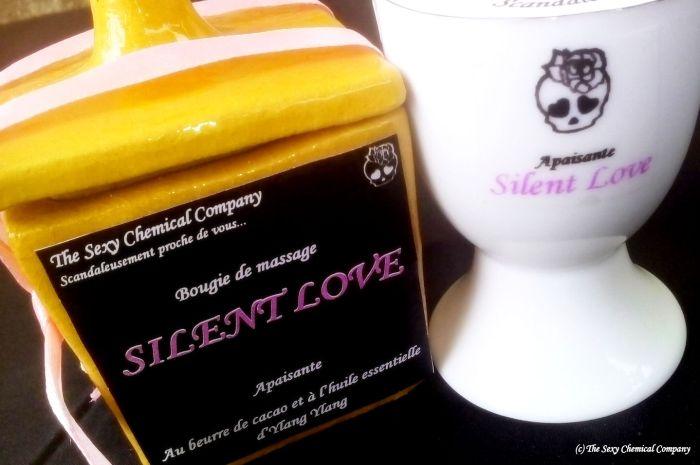 bougie de massage SILENT LOVE XS DELUXE