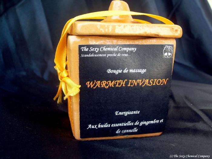 bougie de massage WARMTH INVASION DELUXE