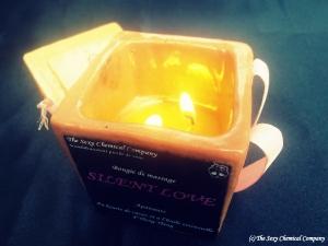 Bougie de massage Silent Love DELUXE