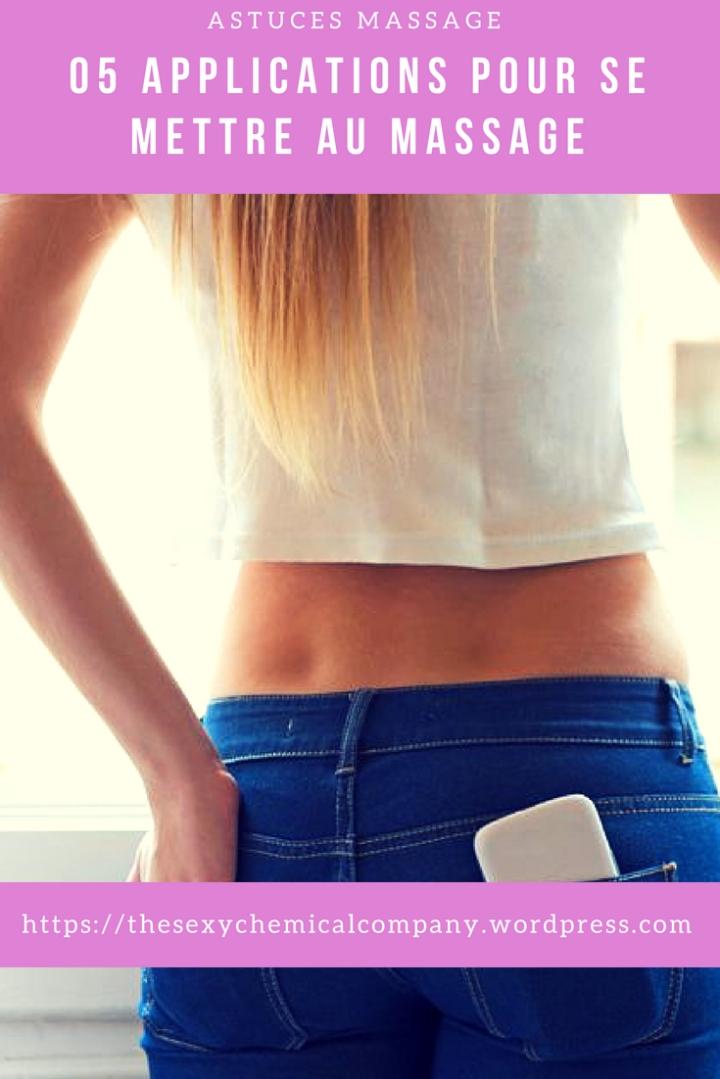 05 applications smartphone pour se mettre au massage