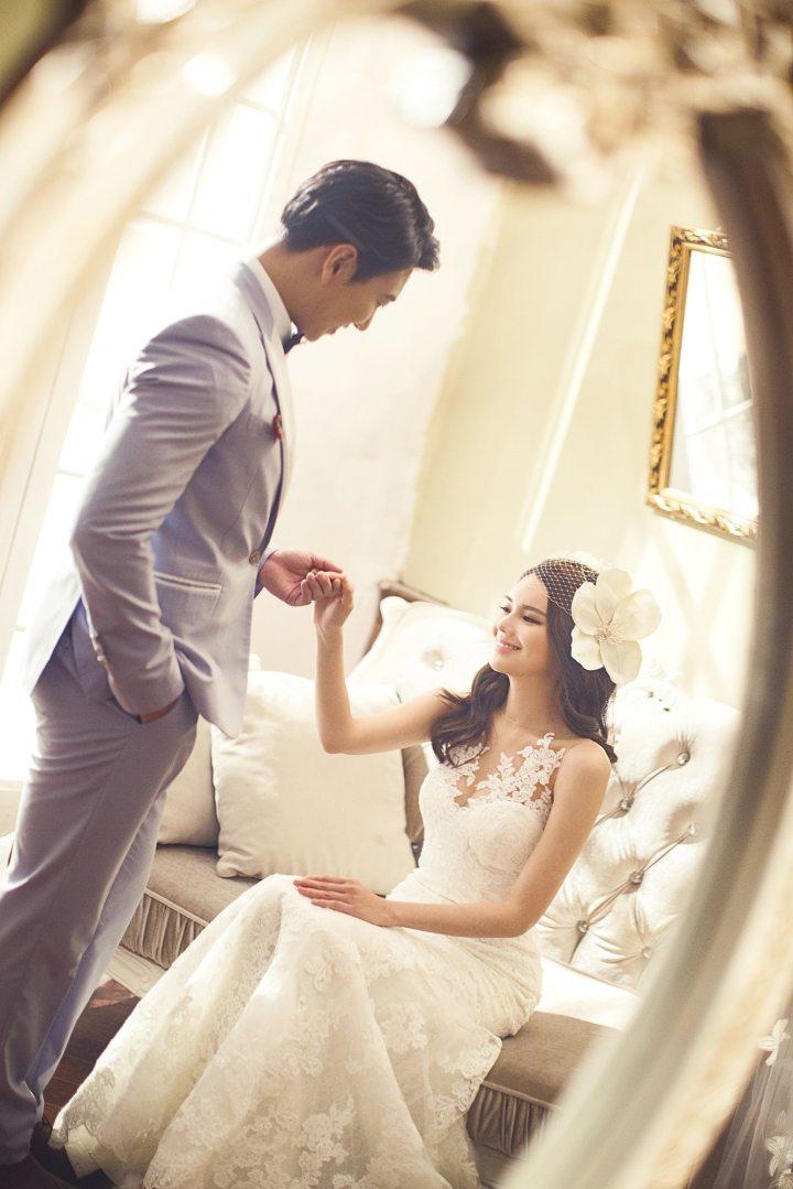 couple heureux et marié - amour avec un grand A