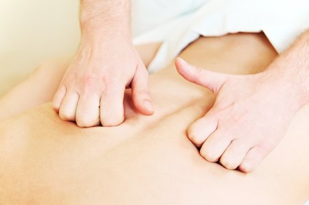 Le massage par friction