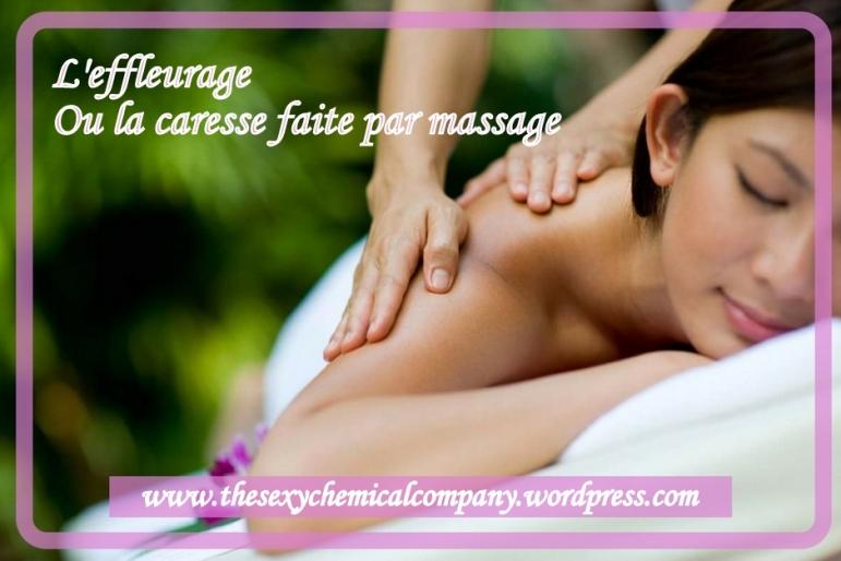 l'effleurage - une caresse faite massage