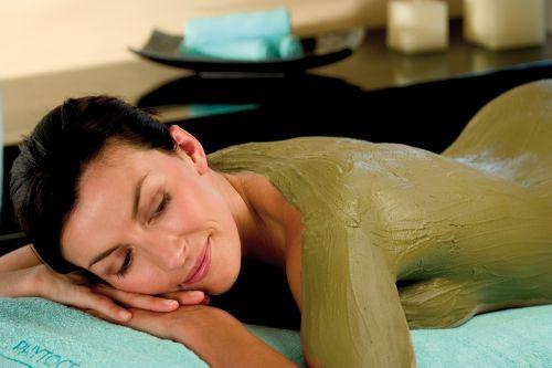 Massage à l'argile