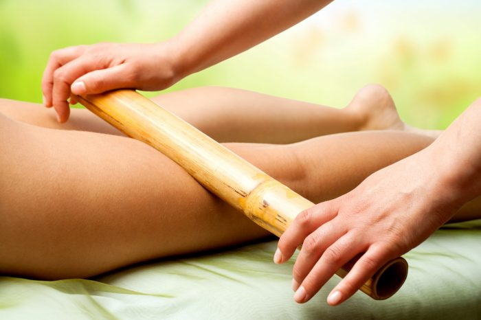 Massage aux bambous