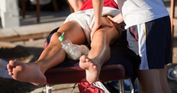 massage sportif - après l'entraînement