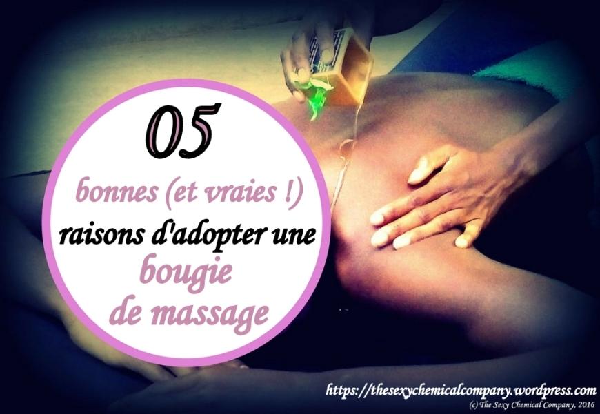 05 bonnes raisons d'adopter une bougie de massage