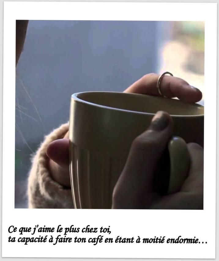 déclarer son amour en 24 heures - exemple 3 - faire son café
