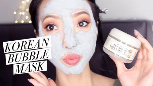 bubble clay mask corée du sud korean produit de beauté cosmétique WTF extraordinaire WTF hors norme