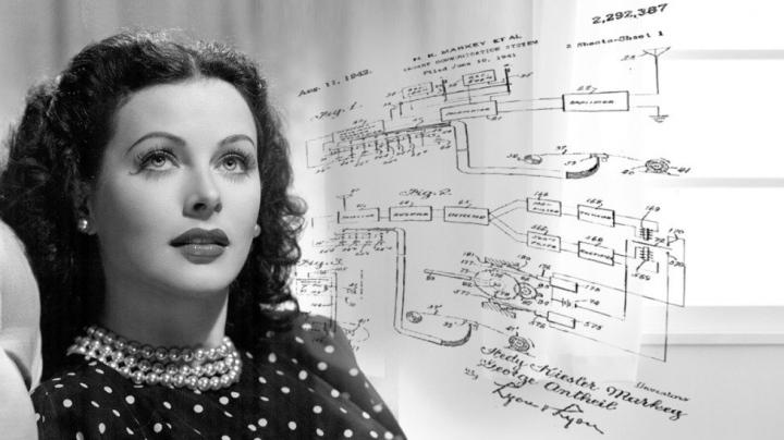Hedy Lamarr actrice inventrice star de cinéma GPS wifi