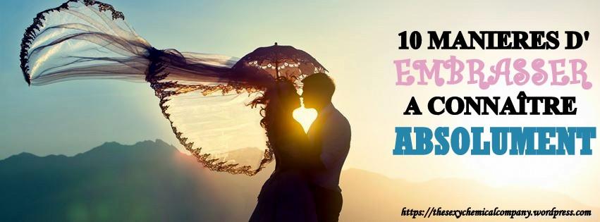 10 manieres d'embrasser
