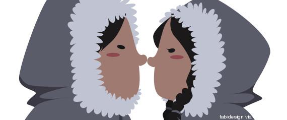 bisou esquimau - 10 façons embrasser