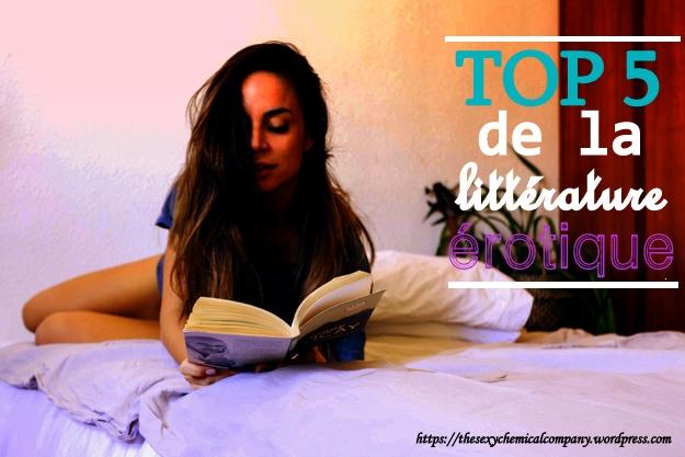 top 5 de la litterature erotique