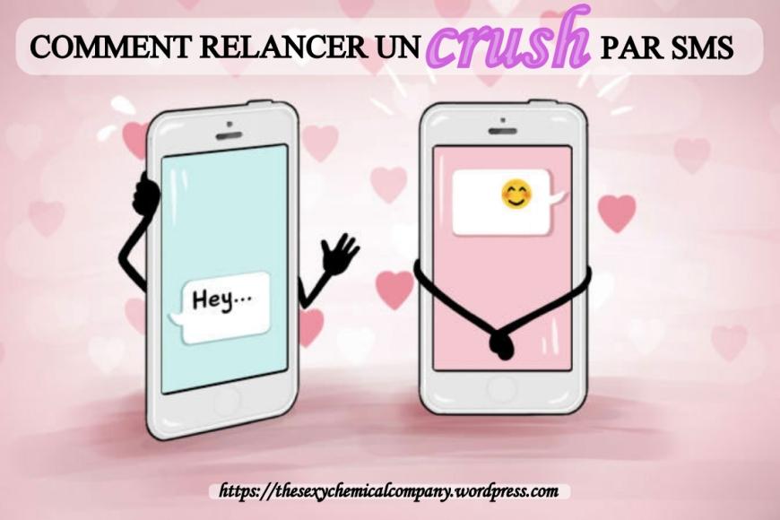 Comment relancer un crush homme femme par sms