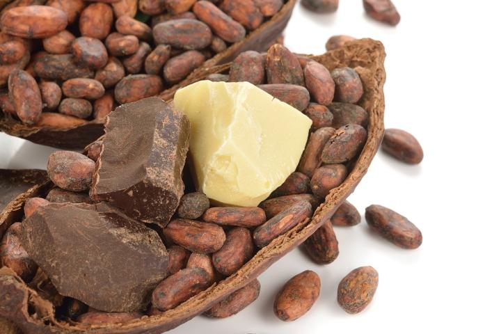 beurre de cacao - top 05 beurres vegetaux utilises en massage