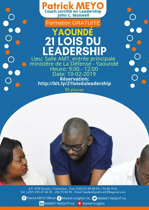 formation en ledaership yaounde patrick meyo session leadership