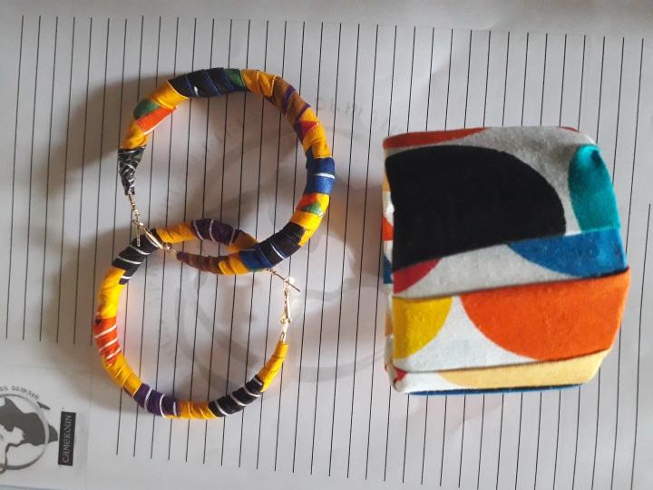 atelier de création de bijoux en pagne - FAFED Cameroun