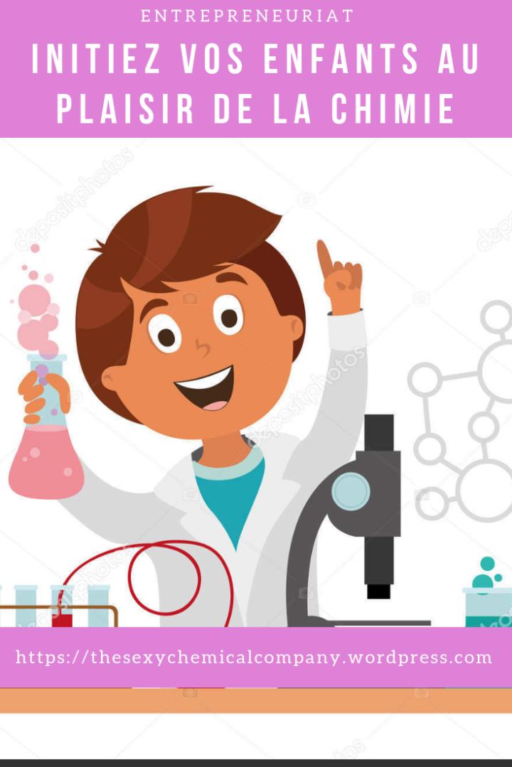 atelier activité vacance enfant Yaoundé chimie -pin it!