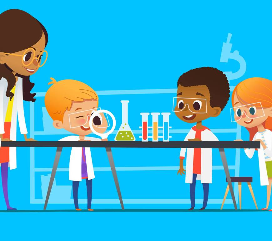 atelier chimie activité vacances enfant Yaoundé